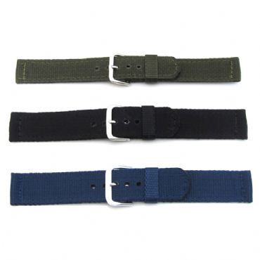 Nato Military Black Nylon 18mm Strap | Watch Straps and Bands | Watch Tools | Watch Glass and Crystals | Cleaning | Watch Parts | Watch Hands | Vintage Watch Parts | Watch Batteries | Clock Parts